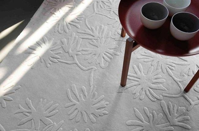 Play with textures & forms with nanimarquina rugs